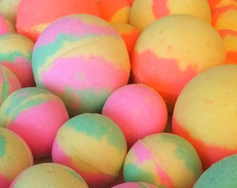 10 Large Bubble Bath Bombs! Pick and choose up to 5 different scents!