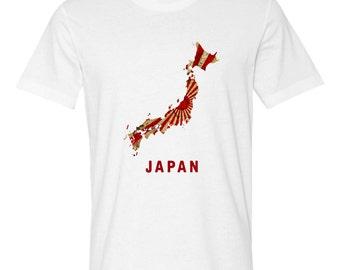 The Japan Rising Sun T-Shirt (Mens Regular Fit)
