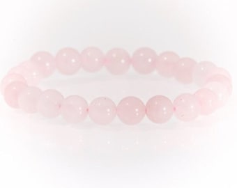 Rose Quartz 4mm bracelet