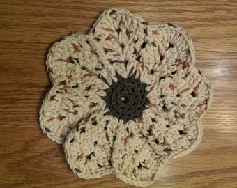 Flower Dish Cloths