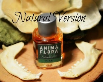 Anima Flora natural botanical perfume oil 5ml-jasmine, tiare, orange blossom, saffron, costus, patchouli