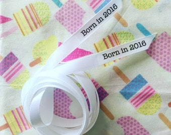 Personalised ribbon, perfect for wrapping!