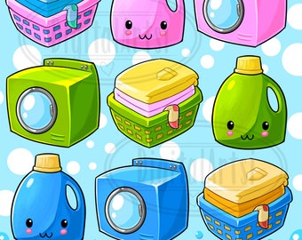 Laundry Detergent Clipart laundry clipart | etsy