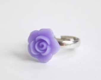 Pastel rose rings