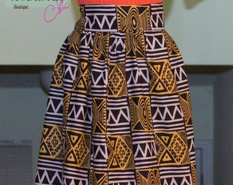 Ankara (Gathered) Skirt