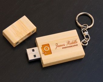 Personalized USB Drive, Custom USB Drive, Personalized Flash Drive, Custom Flash Drive, Wood Flash Drive, Teacher Gifts, Business Gifts