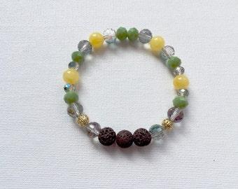 Citrus Essential Oil Diffuser Bracelet