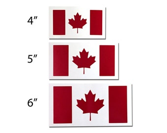 Reflective Canada Flag Decal