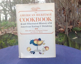 Vintage 1960's American Heritage Cookbook