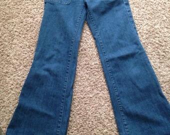 Anlo Wide Leg Flare Jeans