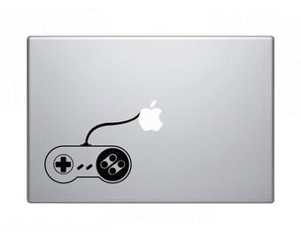 Macbook Laptop Sticker - Retro Gaming Controller 2