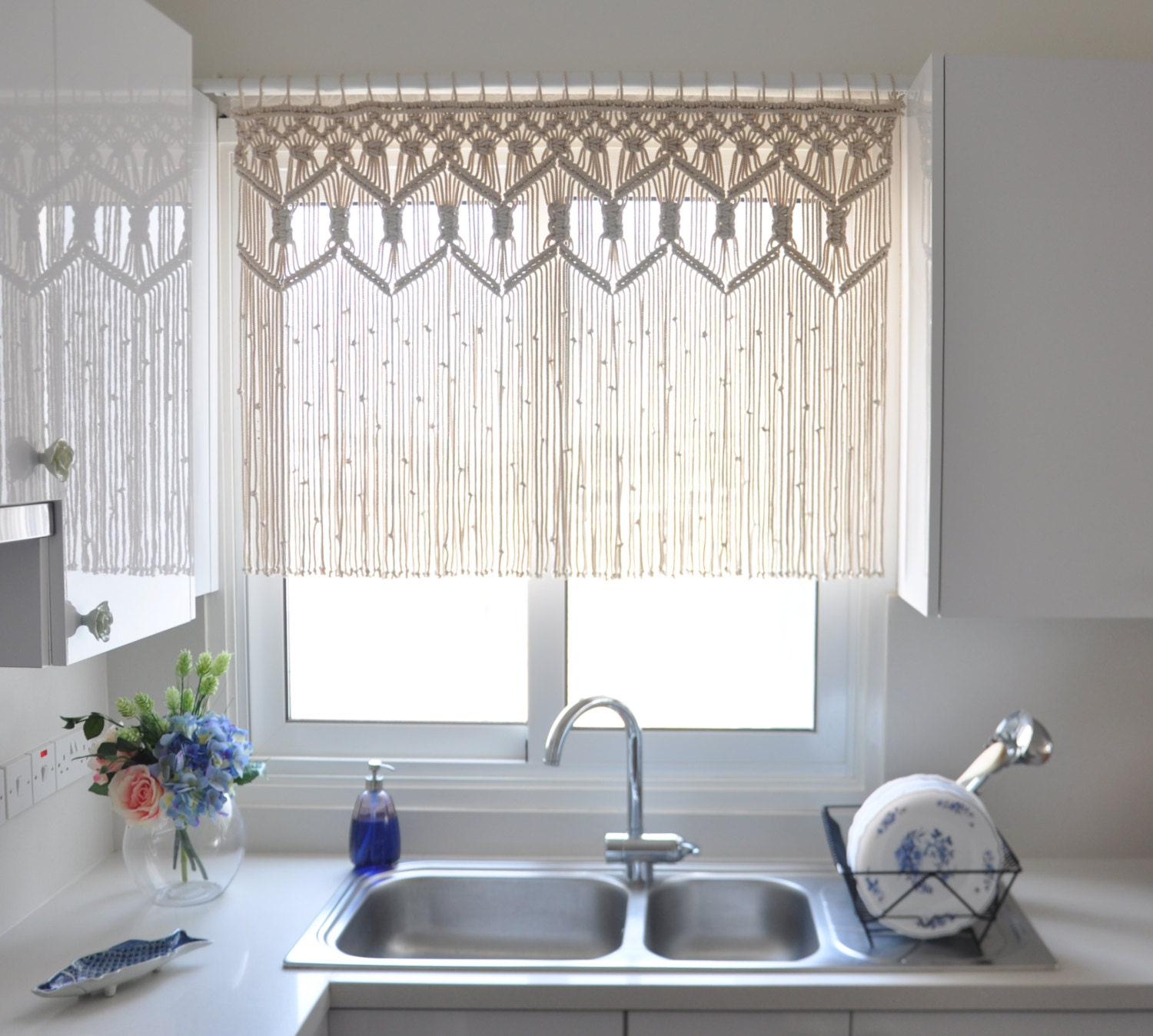 Lace Kitchen Curtains Uk - Best Kitchen Design and Inspiration