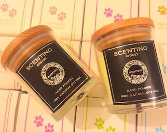 Dog lifesytle soycandle, Aromatherapy candle for dog,scented soycandle,candle for dog !