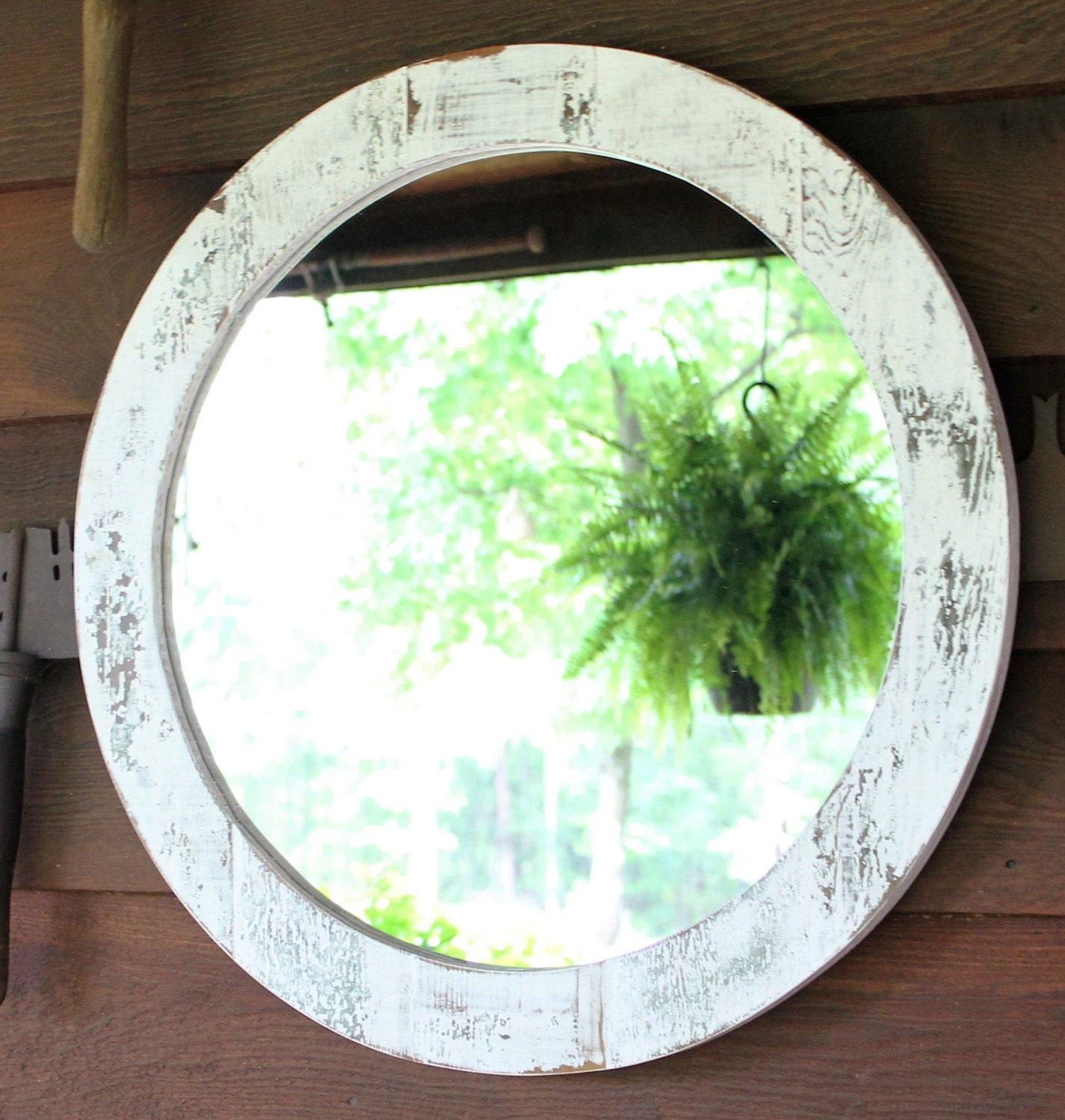 pair of mirrors rustic wall mirror large wall mirror 42 x 30