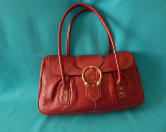 Handbag Red Vintage Via Spiga