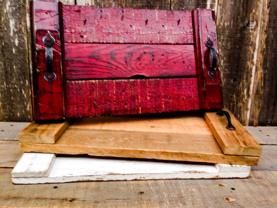 Wood Tray Coffee Table Tray Wooden Trays by ShineBoxPrimitives