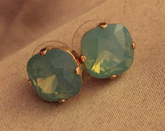 Pacific Green Earrings