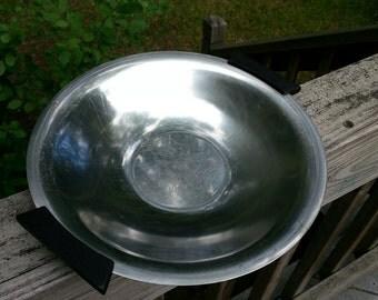 "9 inch Danish Modern/Scandinavian Stainless Steel ""Mad Men"" Dish"