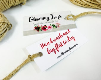 50 Bespoke Chic Gift Tags - Your Logo