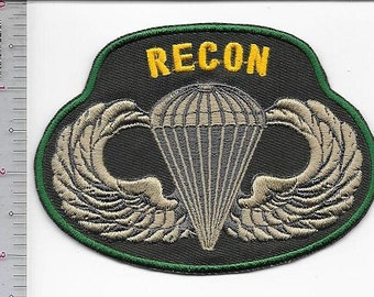 RECON US Army Reconnaissance and Surveillance Leaders Course Airborne Special Operations