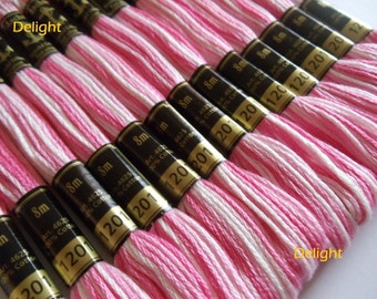 Anchor Thread 1201 Variegated 6 Strand Floss / Skeins