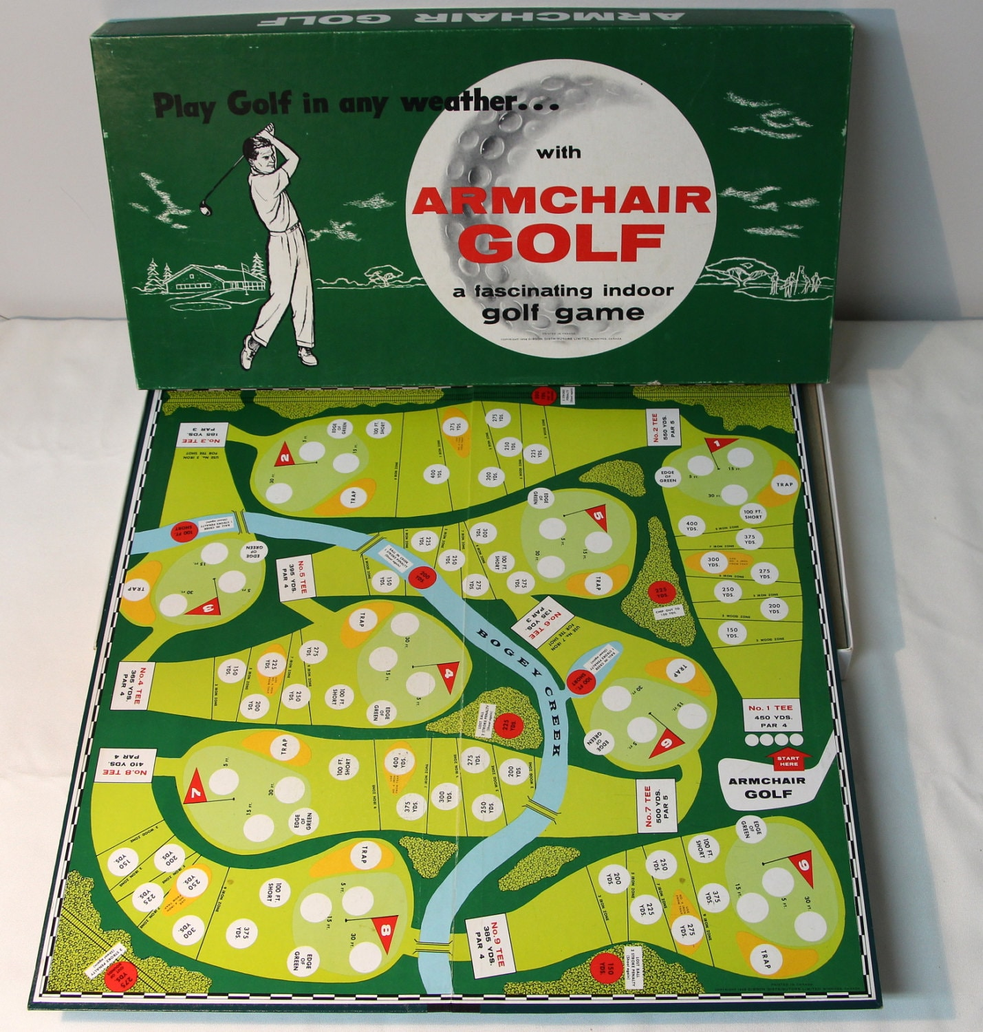 how to play golf board game