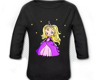 Princess long sleeved Bodysuit