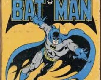 """2"""" x 3"""" Magnet Batman vintage comic book"""