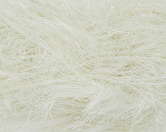 Brand New! Cream Tinsel Chunky Wool