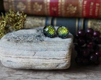 """Earrings """"Green Elv"""""""