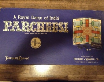 Parcheesi- Selchow & Righter Co. 1959 edition