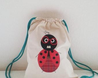 Handmade backpack for kids - ladynerd
