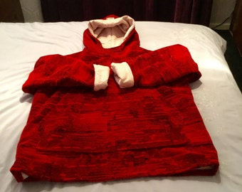 A Large Red Comftable Hoody