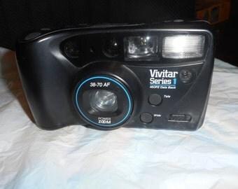 Vivitar Series 1 460PZ 35mm Point and 38-70 AF Camera Works