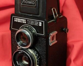 Lubitel 166B retro Russian Medium format camera. TLR