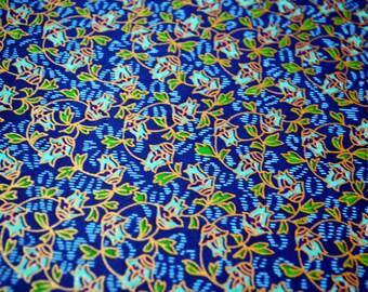 Handmade origami paper - Blue bindweed
