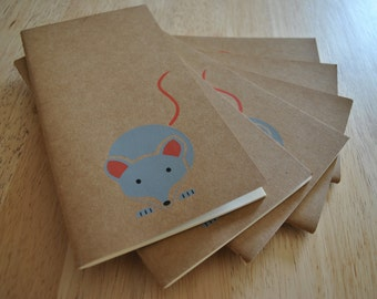 Woodland Mouse Notebook