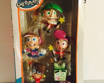 Fairly Odd Parents Cartoon Christmas Ornament Collection