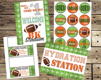 FOOTBALL PARTY DECOR Package - Printable