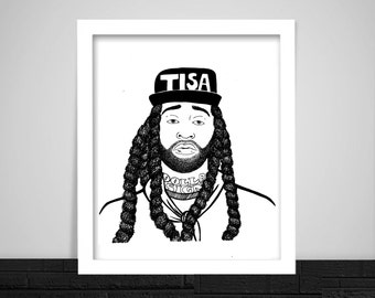 Ty Dolla Sign Print