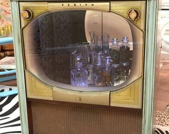 Vintage Zenith Tv Bar