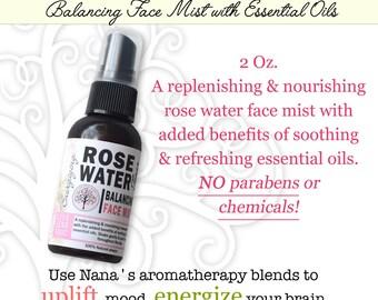 Rose Water Face Mist
