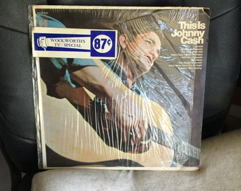 This Is Johnny Cash LP vinyl record