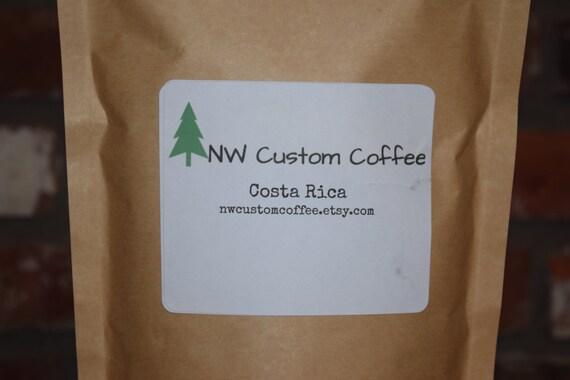1 Pound of Costa Rica Fair Trade Coffee