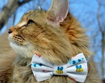 collier noeud papillon de printemps chat collier chat printemps temps chat noeud papillon chat avec noeud chaton noeud papillon collier chaton