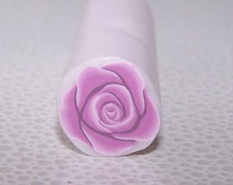 Cashmere Rose Flower Cane / Polymer Clay