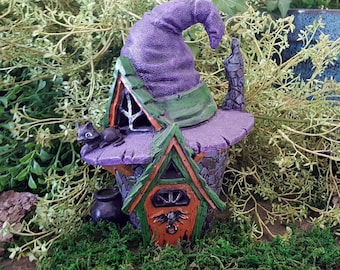 Miniature Witch's Hat House