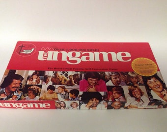 The Ungame- Christian Version- Self Expression Game- 1984
