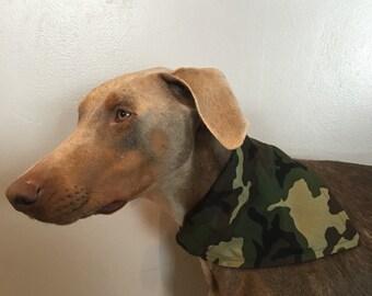 Med/Large Camo Dog Bandana
