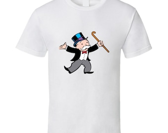 Monopoly Guy Game Board T Shirt